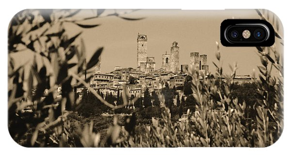 San Gimignano II IPhone Case