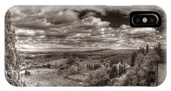 San Gimignano View IPhone Case