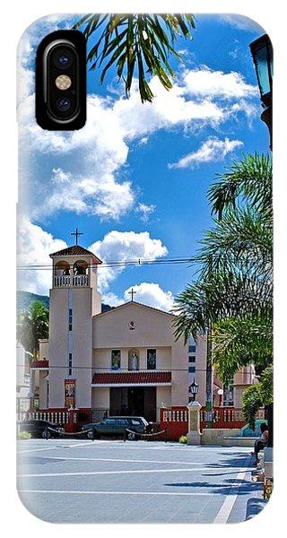 San Joaquin Catholic Church IPhone Case