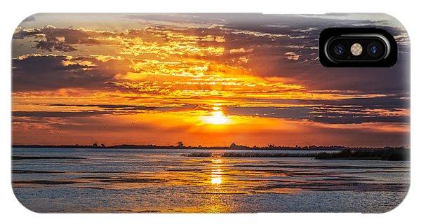 San Joaquin Sunrise IPhone Case