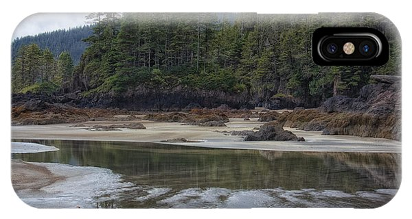 San Josef Bay Reflections IPhone Case