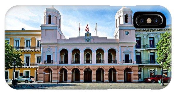 San Juan City Hall IPhone Case