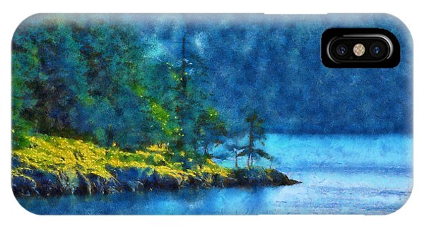 San Juan Island Bay IPhone Case