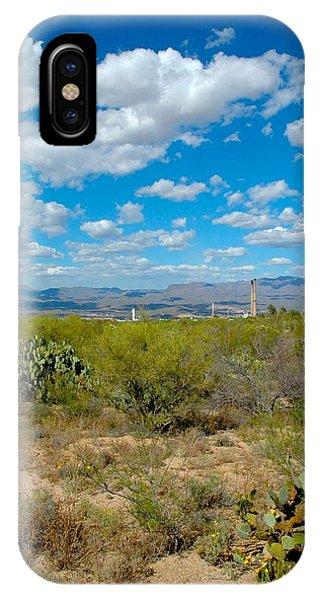 San Manuel Stacks Phone Case by T C Brown