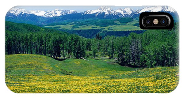 San Miguel iPhone Case - San Miguel Mountains In Spring by Panoramic Images