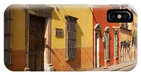 San Miguel Street Mexico IPhone Case