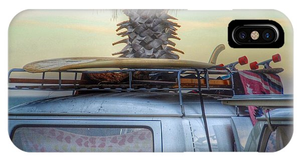 Vw Bus iPhone Case - Lazy Sunday by Hal Bowles