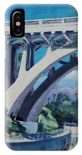San Rafael Bridge IPhone Case
