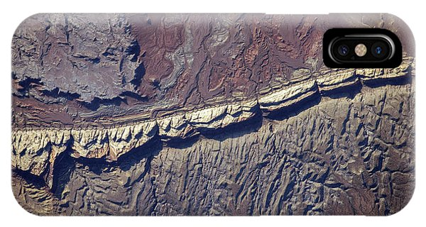 International Space Station iPhone Case - San Rafael Reef by Nasa