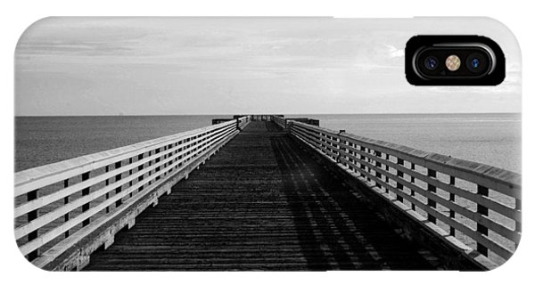 San Simeon Pier IPhone Case
