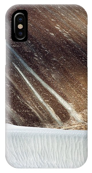 Sand Abstract, Hunder, 2006 IPhone Case