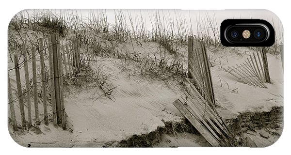Sand And Fences IPhone Case