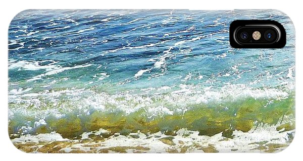 iPhone Case - Sand And Sea  by Stephanie Callsen