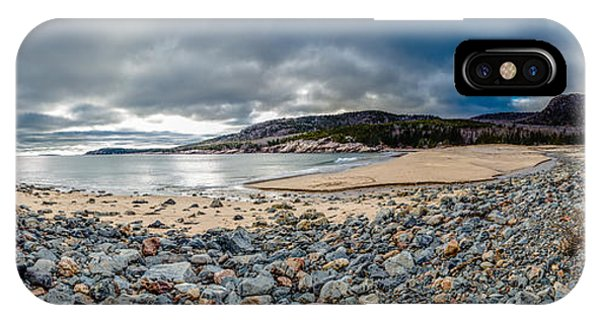 Sand Beach At Acadia IPhone Case