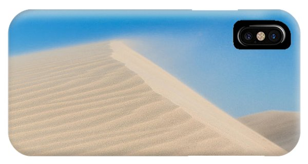 Sand Blowing Off A Dune IPhone Case