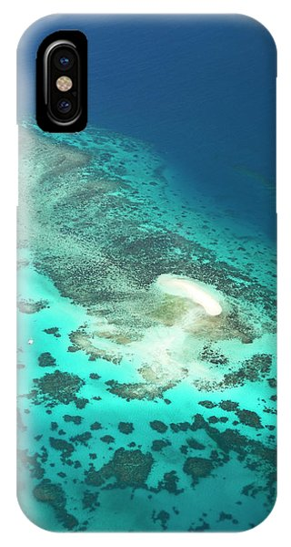 Barrier Reef iPhone Case - Sand Cay by Louise Murray