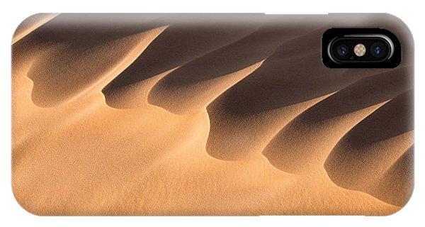 Caravan iPhone Case - Sand Dune Detail by Delphimages Photo Creations
