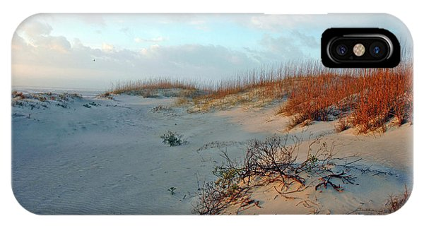 Sand Dune On Tybee Island IPhone Case