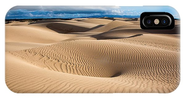 Sand Dune Vortex IPhone Case