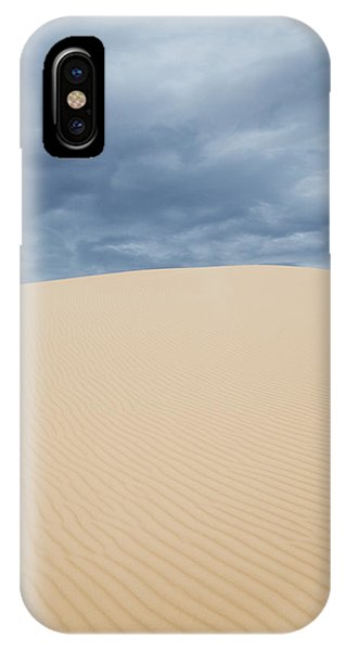 Sand Dunes And Dark Clouds IPhone Case