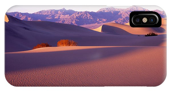 Sand Dunes In Death Valley IPhone Case