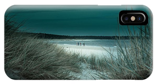Sand Dunes On The Baltic Coast Of Oland At Boda Sand Sweden IPhone Case