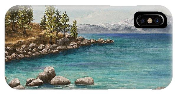 Sand Harbor Lake Tahoe IPhone Case