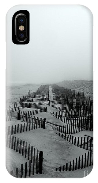Sand In The Line IPhone Case