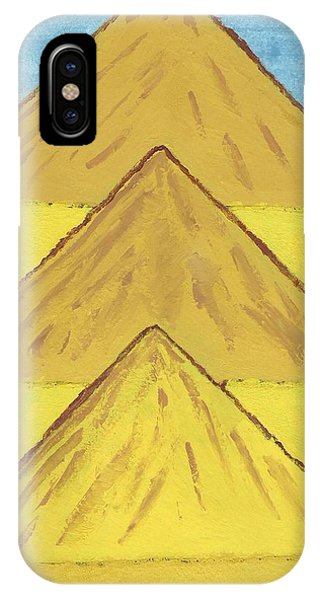 Sand Mountains IPhone Case