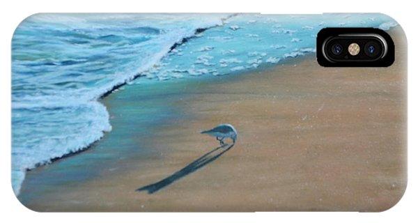Sand Piper IPhone Case