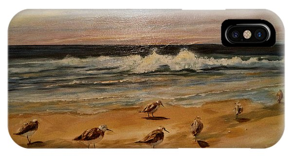 Sand Pipers IPhone Case
