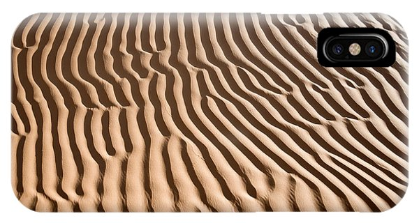Caravan iPhone Case - Sand Ripples by Delphimages Photo Creations