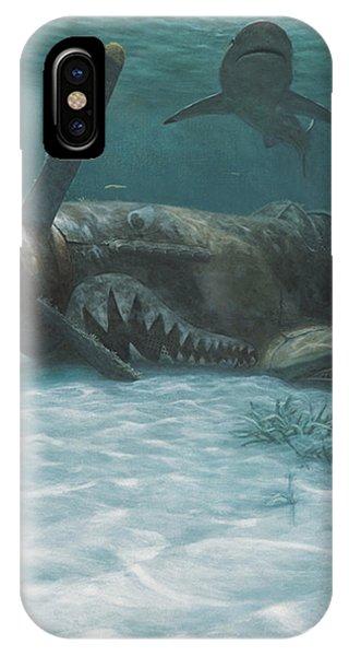 Scuba Diving iPhone Case - Sand Shark by Randall Scott