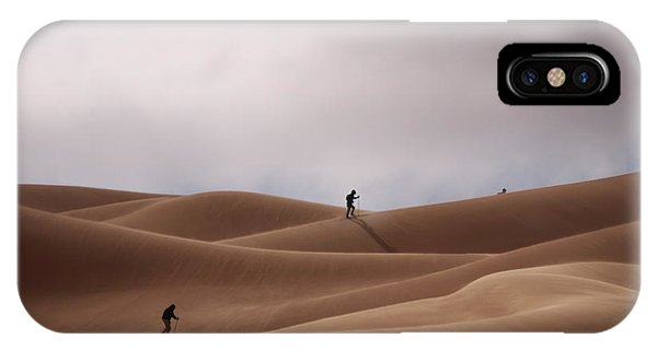 Sand Skiing IPhone Case