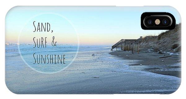Sand Surf Sunshine IPhone Case