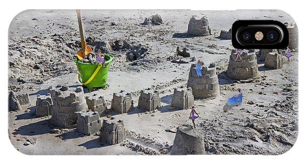 Sandcastle Squatters IPhone Case