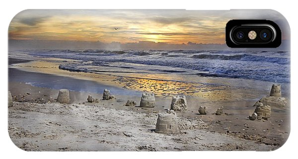 Sandcastle Sunrise IPhone Case