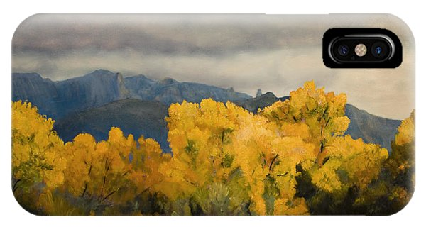 Sandias From The Bosque Phone Case by Jack Atkins