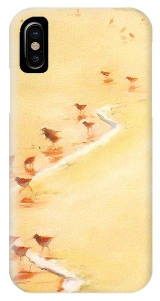 Sandpiper Promenage IPhone Case