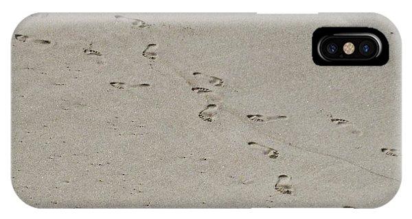 Sandprints IPhone Case