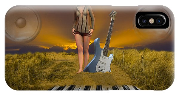 Sands Of Music IPhone Case