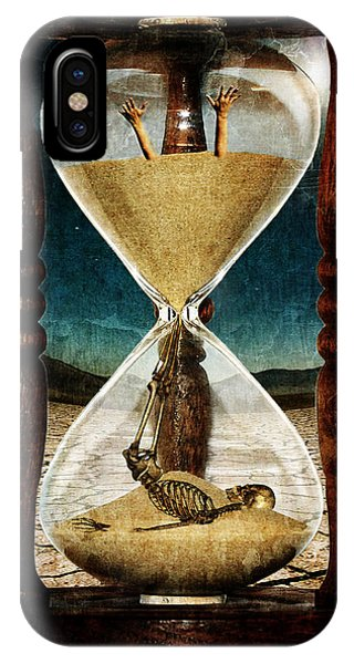 Sands Of Time ... Memento Mori  IPhone Case