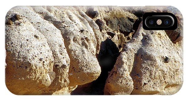 Sandstone Erosions Dry River Bed IPhone Case