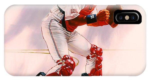 New York Mets iPhone Case - Sandy Alomar by Dick Bobnick