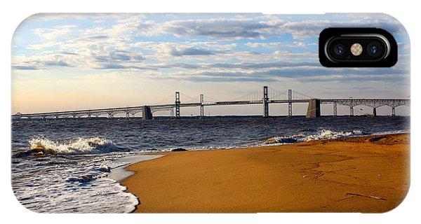 Sandy Bay Bridge IPhone Case