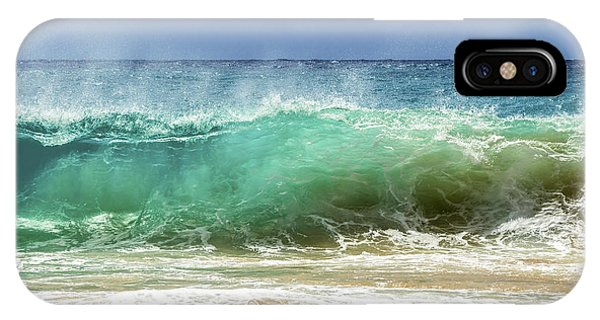 Sandy Beach Shorebreak 1 IPhone Case