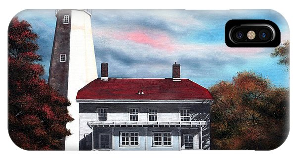 Sandy Hook Lighthouse IPhone Case