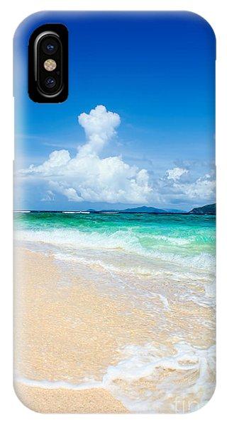 iPhone Case - Sandy Spit Bvi by Jared Shomo