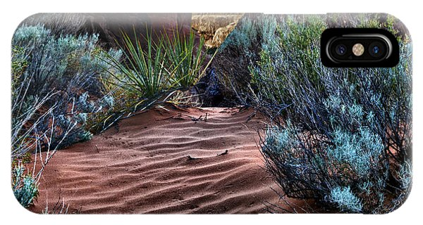Sandy Trail Arches National Park IPhone Case