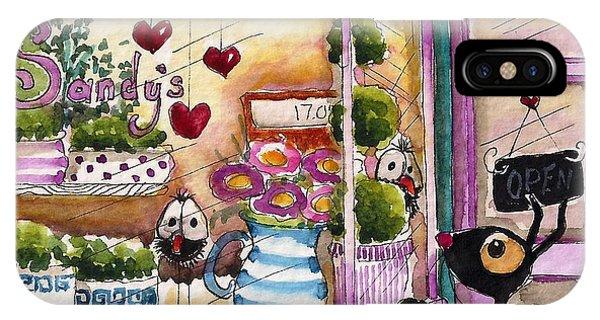 Sandy's Floral Shop IPhone Case